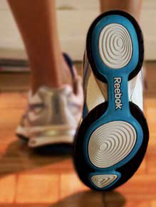 Reebok easy tone trainers