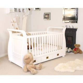 Nutkin_childrens_white_cot_bed