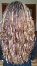 Curly girl method week 2