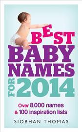 Best baby names 2014